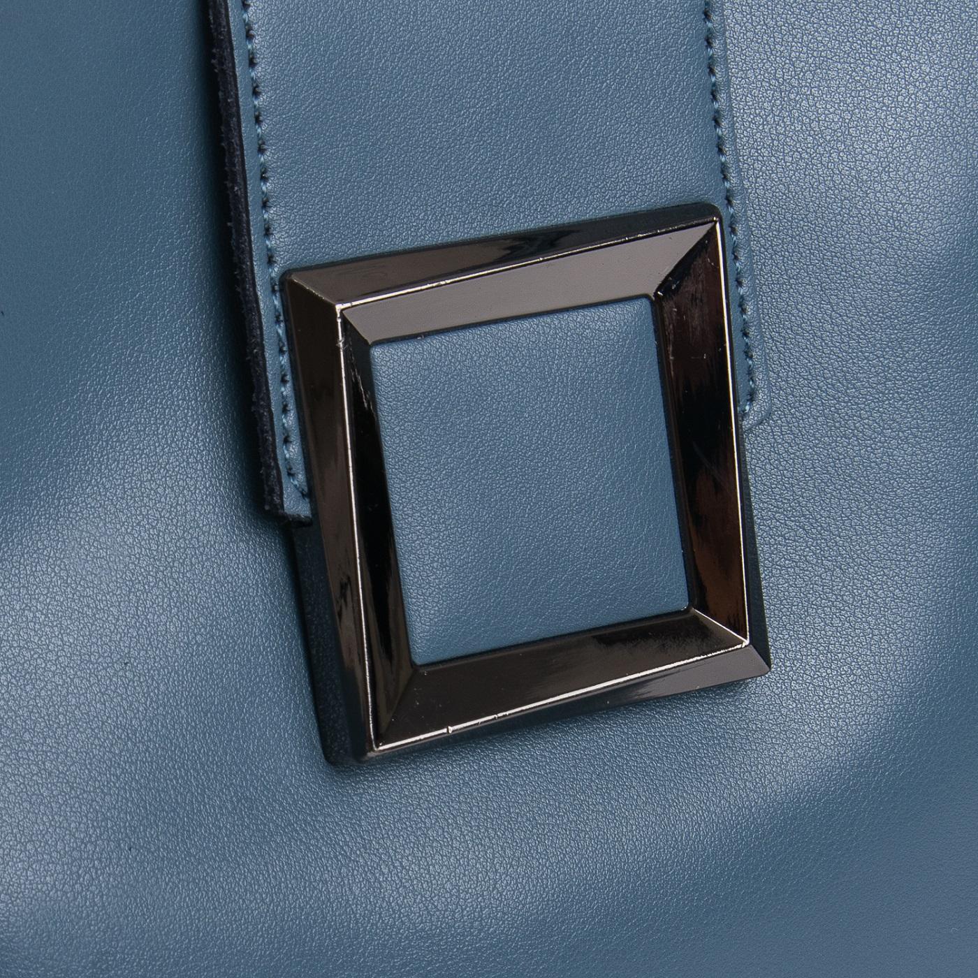Сумка Женская Классическая кожа ALEX RAI 010-1 9924-206 blue - фото 3