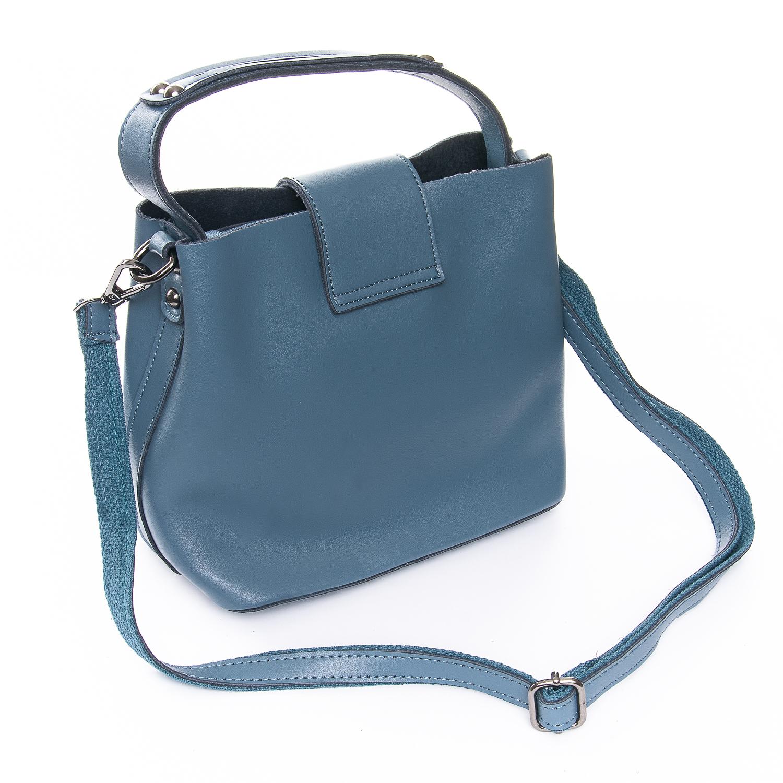 Сумка Женская Классическая кожа ALEX RAI 010-1 9924-206 blue - фото 4