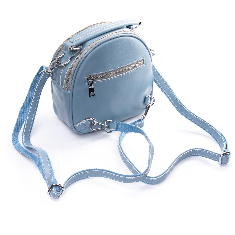 Сумка Женская Клатч кожа ALEX RAI 010-1 339 blue - фото 4