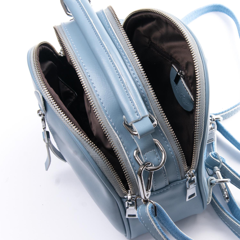 Сумка Женская Клатч кожа ALEX RAI 010-1 339 blue - фото 5