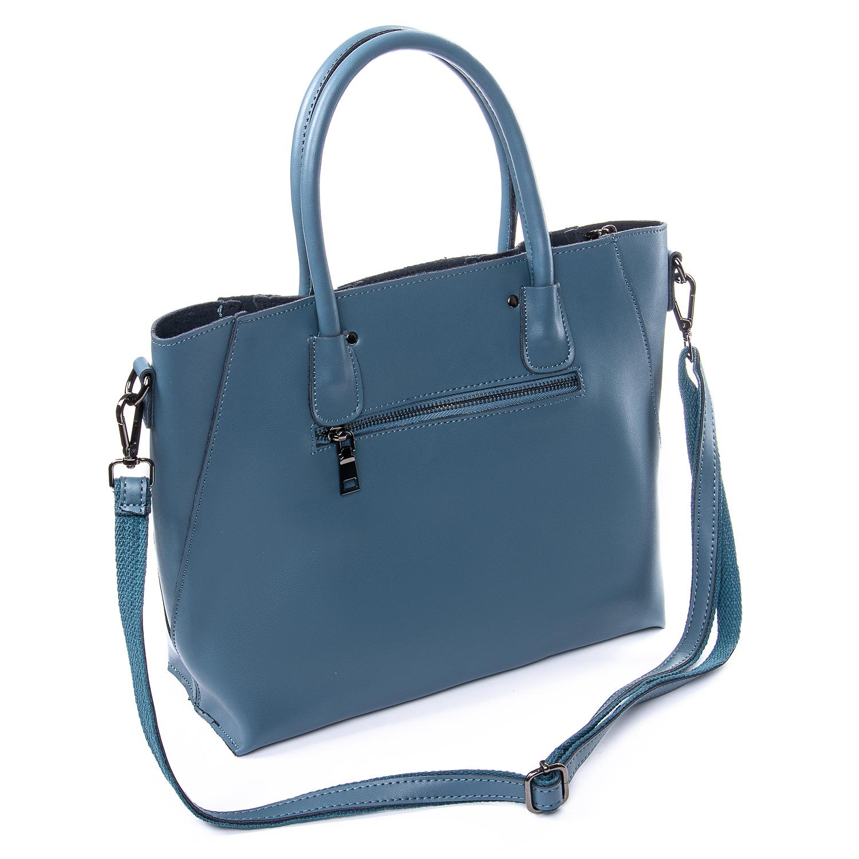 Сумка Женская Классическая кожа ALEX RAI 010-1 8778-906 blue - фото 4