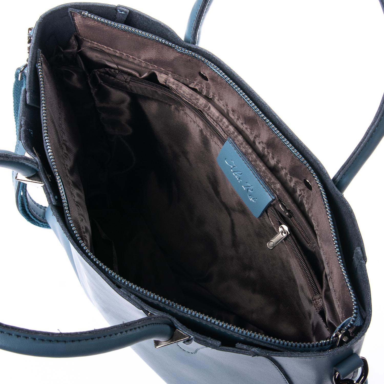 Сумка Женская Классическая кожа ALEX RAI 010-1 8778-906 blue - фото 5