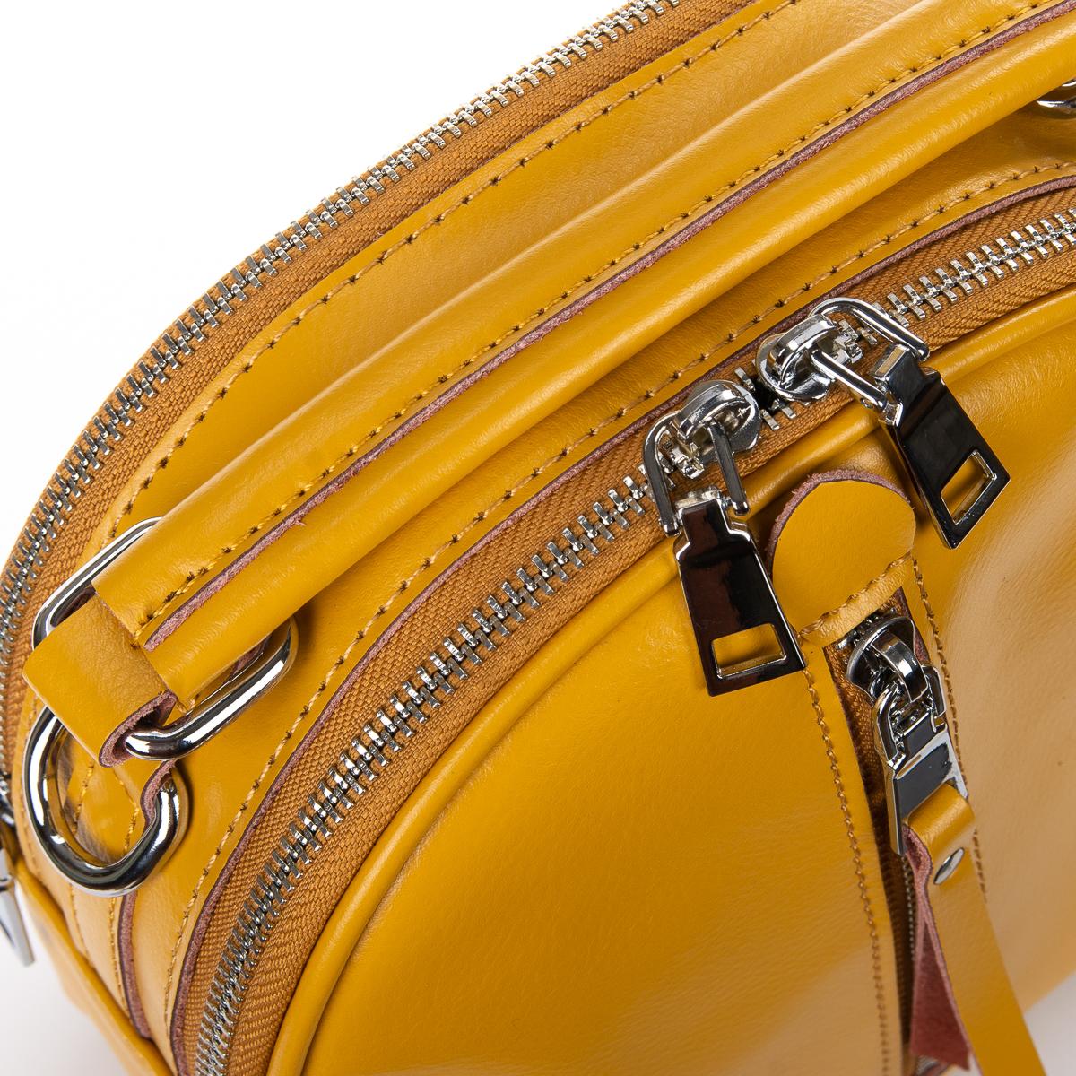 Сумка Женская Клатч кожа ALEX RAI 010-1 339 yellow - фото 3