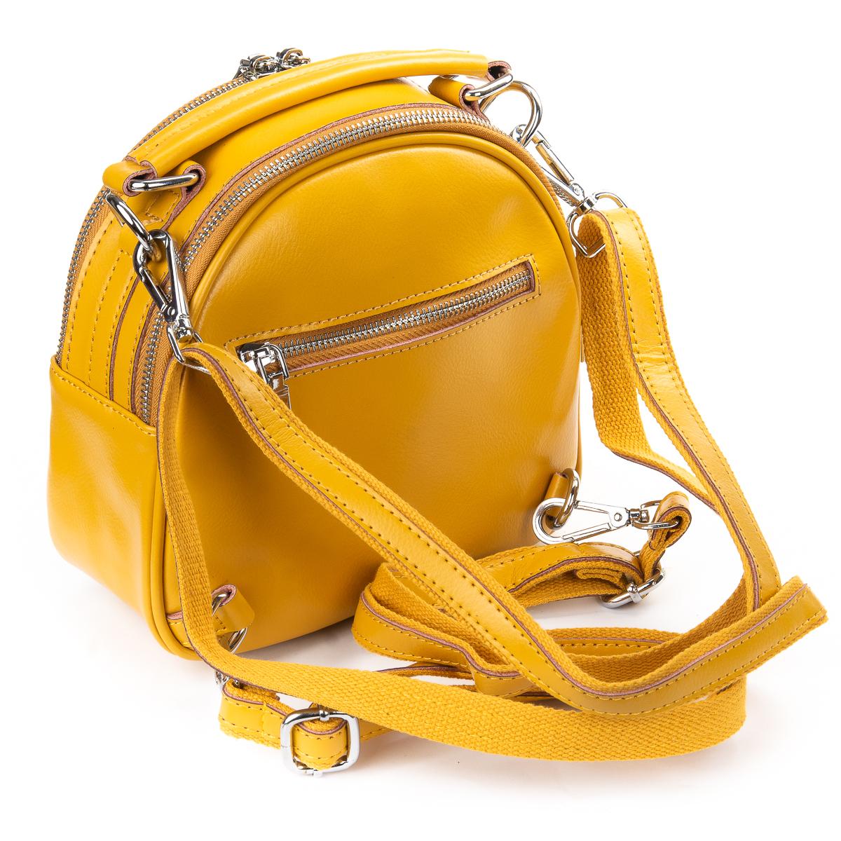 Сумка Женская Клатч кожа ALEX RAI 010-1 339 yellow - фото 4