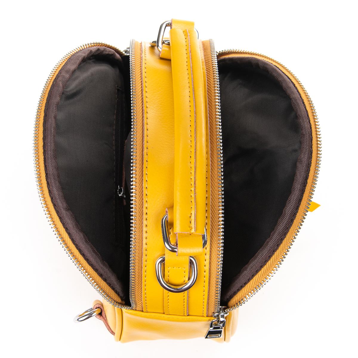 Сумка Женская Клатч кожа ALEX RAI 010-1 339 yellow - фото 5