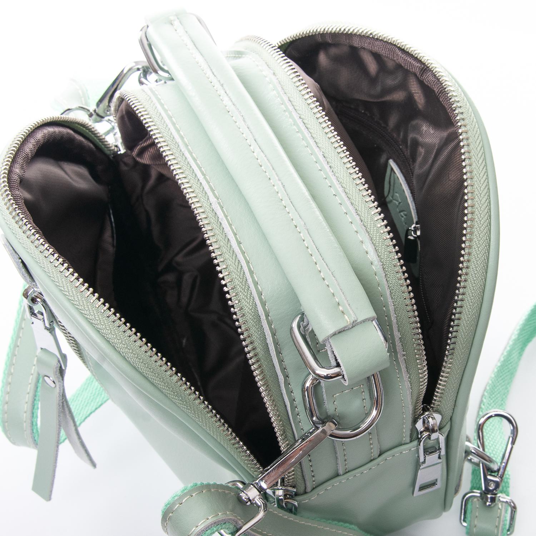 Сумка Женская Клатч кожа ALEX RAI 010-1 339 green - фото 5