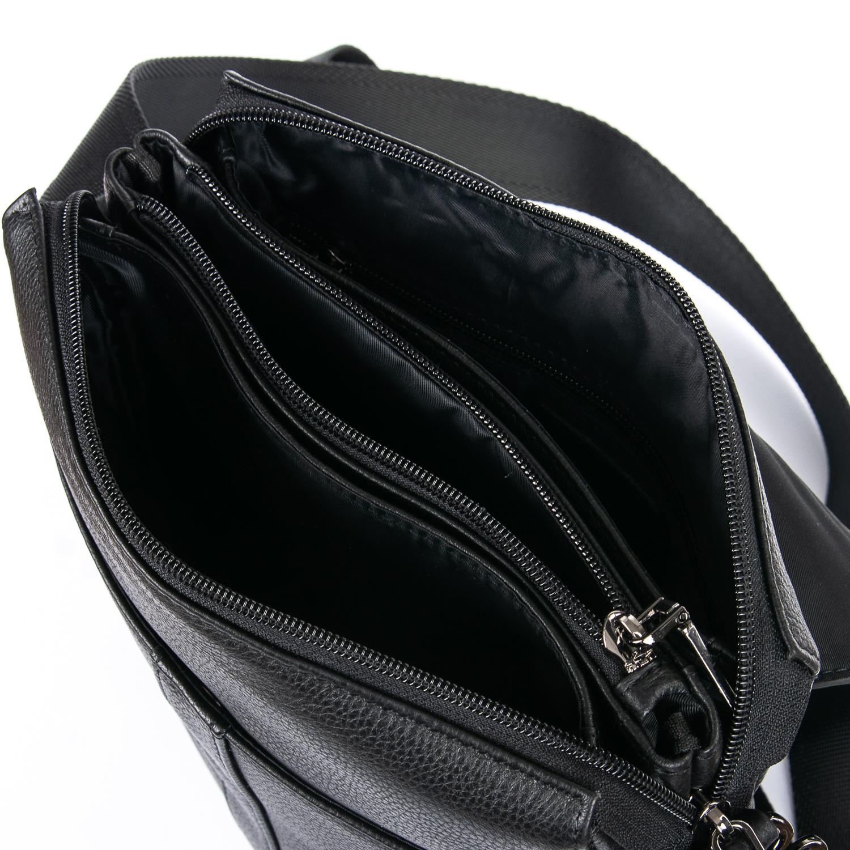 Сумка Мужская Планшет кожаный BRETTON BE 3387-3 black - фото 5