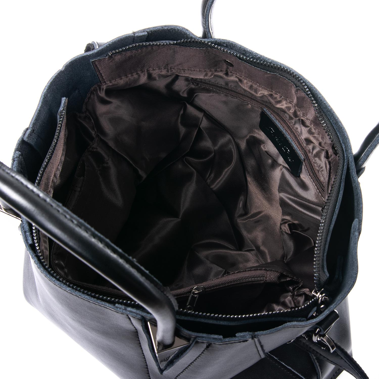 Сумка Женская Классическая кожа ALEX RAI 010-1 8778-906 black - фото 4