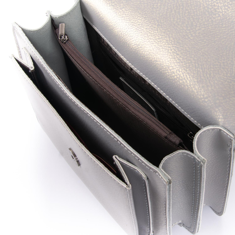 Сумка Женская Клатч кожа ALEX RAI 010-1 8543 grey - фото 5