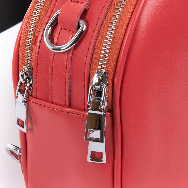 Сумка Женская Клатч кожа ALEX RAI 010-1 339 light-red - фото 3
