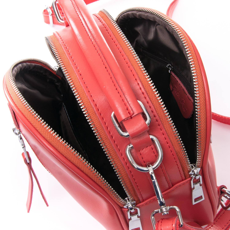 Сумка Женская Клатч кожа ALEX RAI 010-1 339 light-red - фото 5
