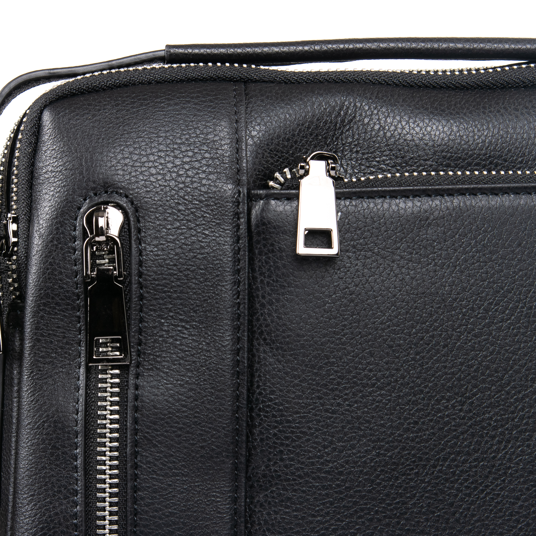 Сумка Мужская Планшет кожаный BRETTON BE 5496-4 black - фото 3