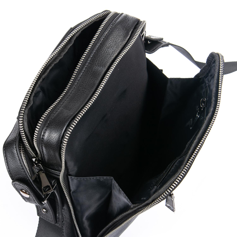 Сумка Мужская Планшет кожаный BRETTON BE 5496-4 black - фото 5