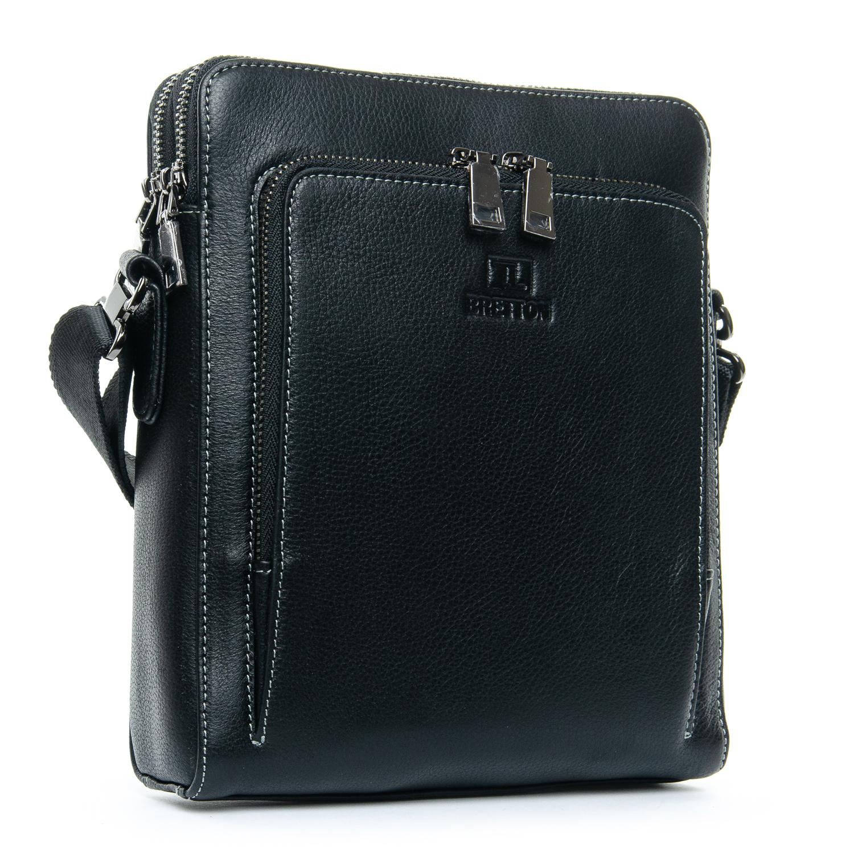 Сумка Мужская Планшет кожаный BRETTON 3627-4 black