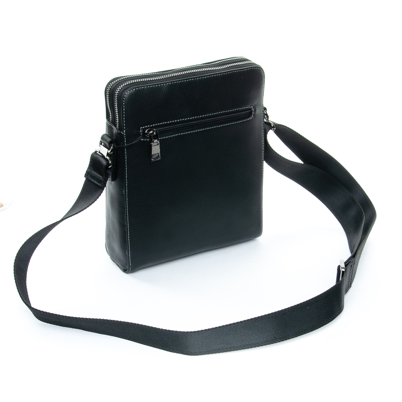 Сумка Мужская Планшет кожаный BRETTON 3627-4 black - фото 4