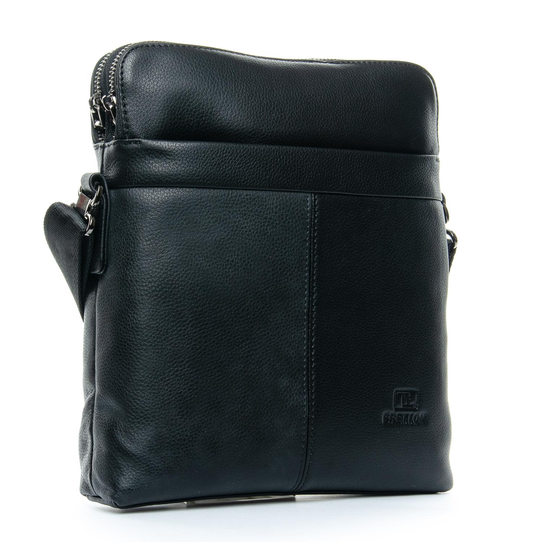 Сумка Мужская Планшет кожаный BRETTON 3639-4 black