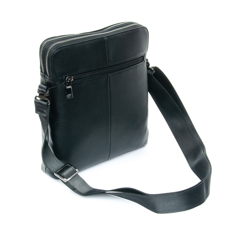 Сумка Мужская Планшет кожаный BRETTON 3639-4 black - фото 4