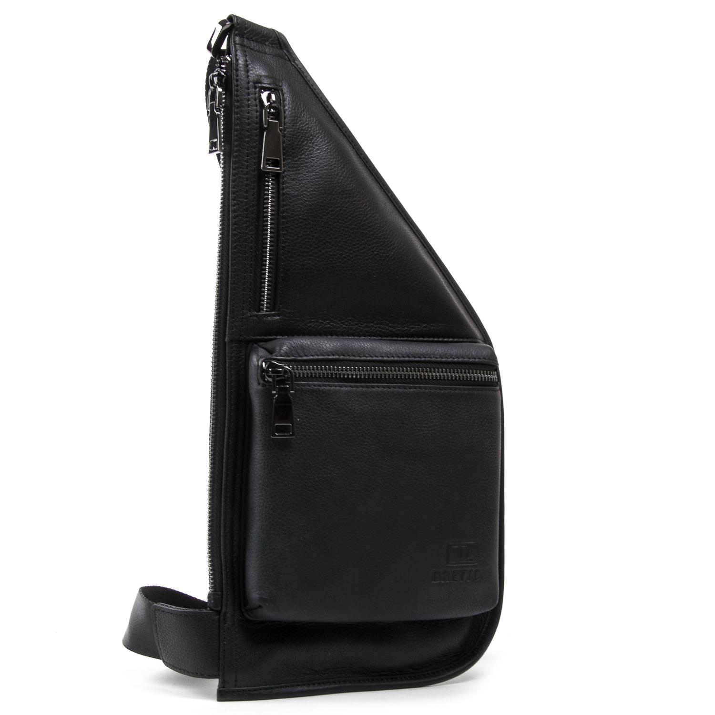 Рюкзак Городской кожаный BRETTON BE 1006-6 black