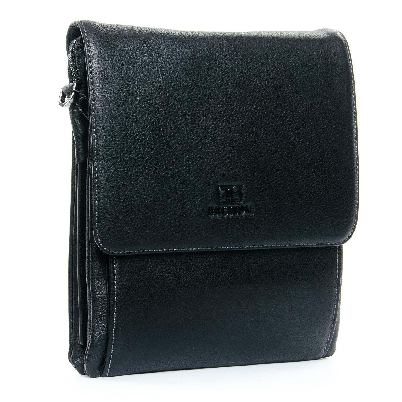 Сумка Мужская Планшет кожаный BRETTON 5190-4 black