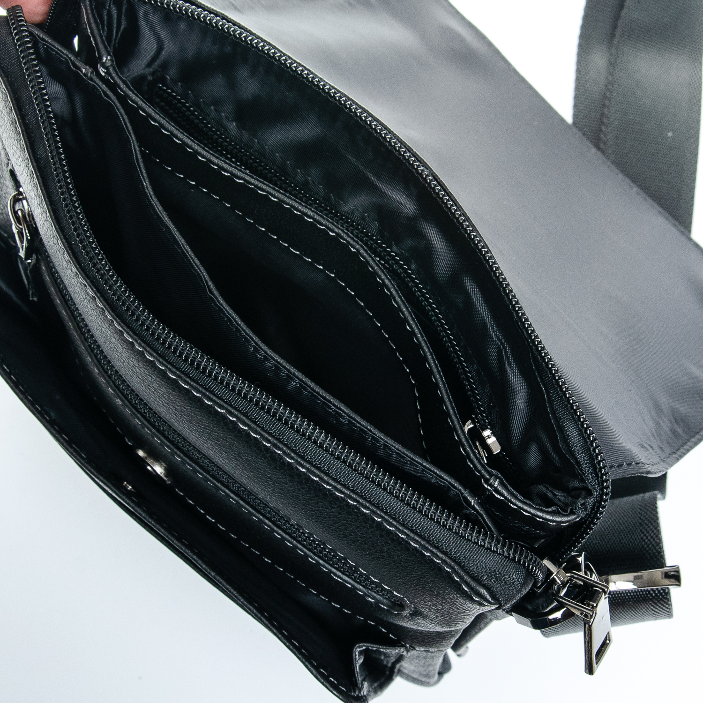 Сумка Мужская Планшет кожаный BRETTON 5190-4 black - фото 4
