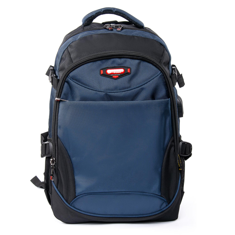 Рюкзак Городской нейлон Power In Eavas 9629 black-blue