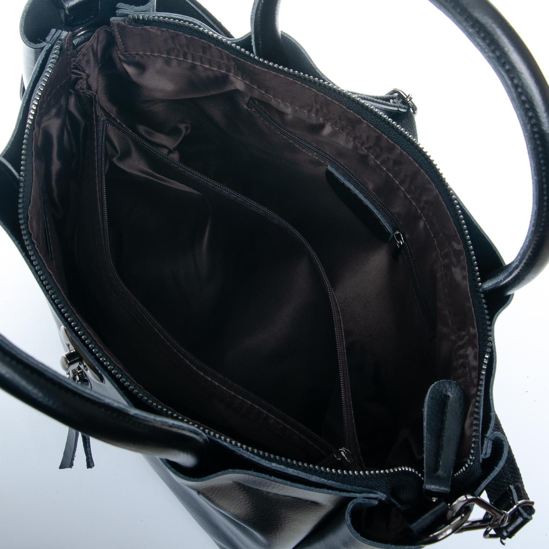 Сумка Женская кожа ALEX RAI 1-05 8696-3 black - фото 5
