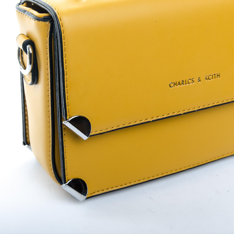 Сумка Женская Клатч иск-кожа 1-01 9821 yellow - фото 3