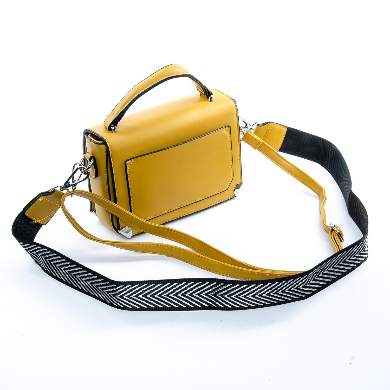 Сумка Женская Клатч иск-кожа 1-01 9821 yellow - фото 4