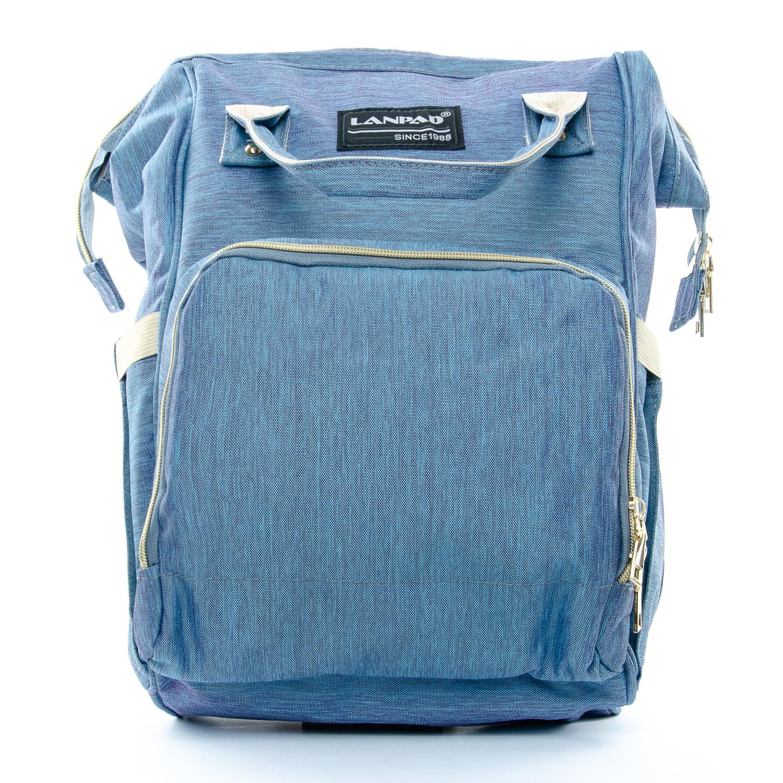 Сумка Женская Рюкзак нейлон Lanpad D900 blue