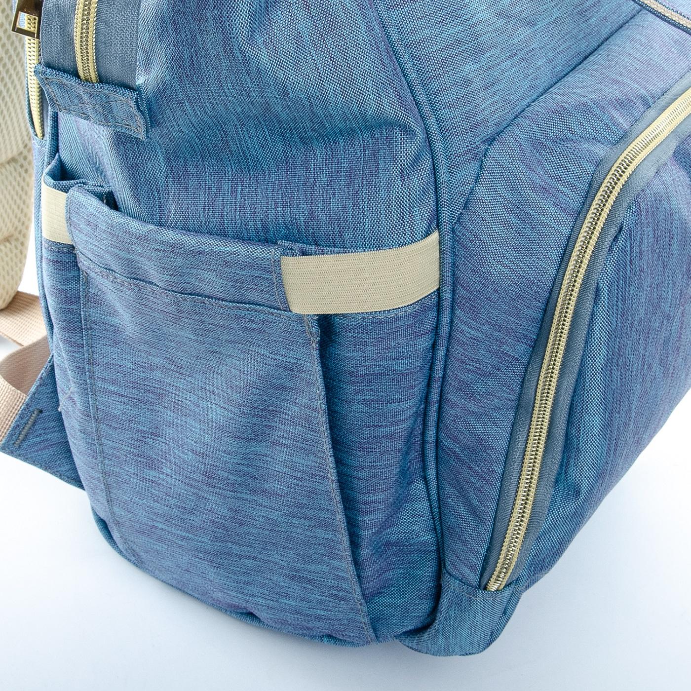 Сумка Женская Рюкзак нейлон Lanpad D900 blue - фото 5
