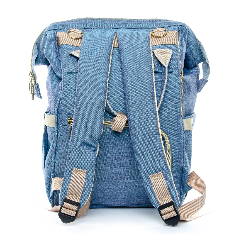 Сумка Женская Рюкзак нейлон Lanpad D900 blue - фото 3