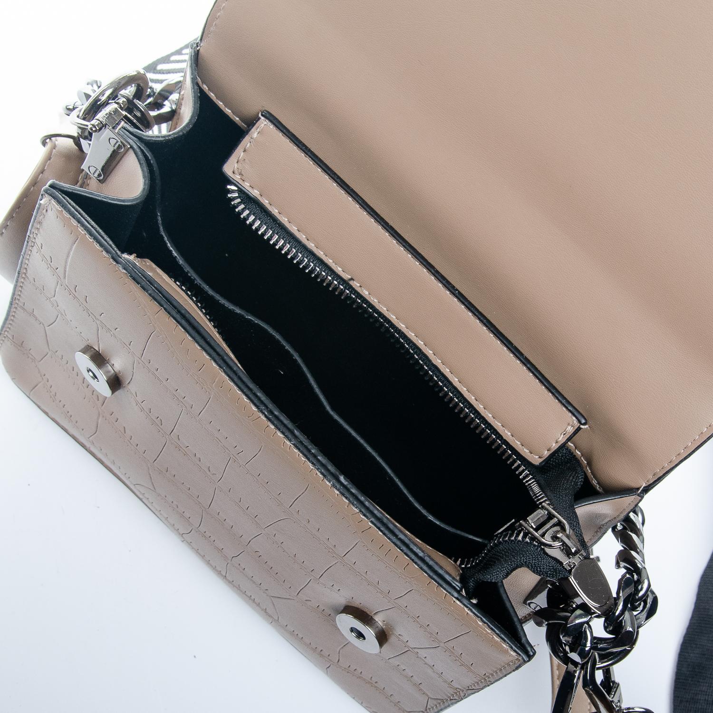 Сумка Женская Клатч иск-кожа 1-01 16863 khaki - фото 5