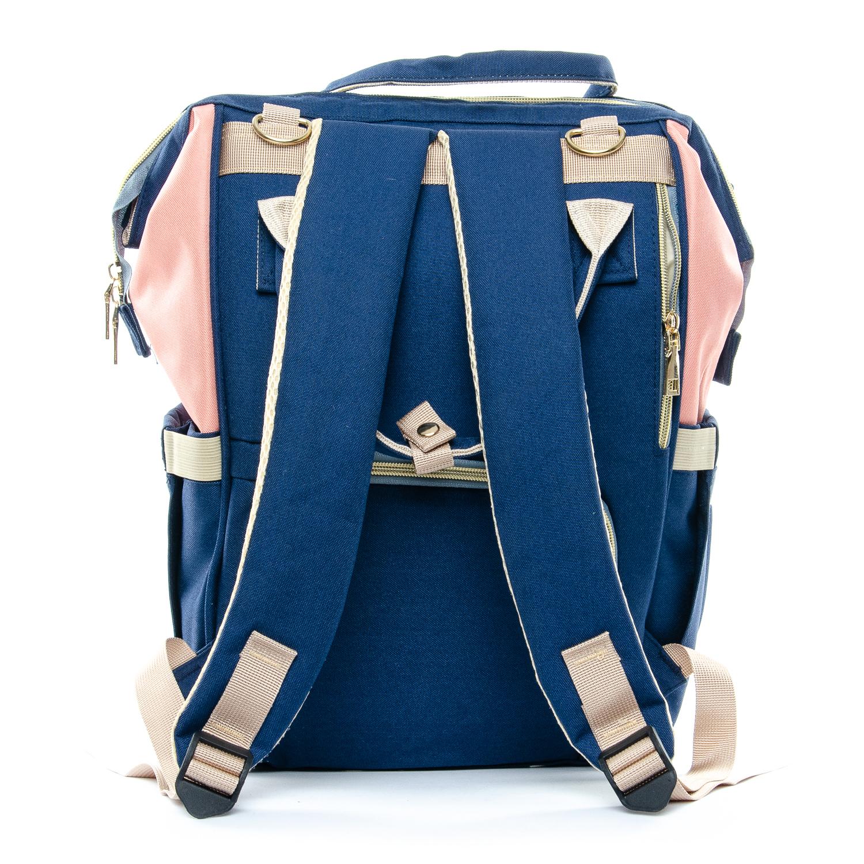 Сумка Женская Рюкзак нейлон Lanpad D900 blue rose - фото 3