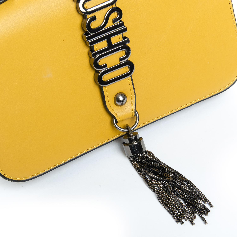 Сумка Женская Клатч иск-кожа 1-01 9805 yellow - фото 3