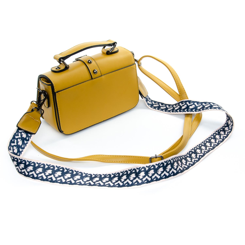 Сумка Женская Клатч иск-кожа 1-01 9805 yellow - фото 4