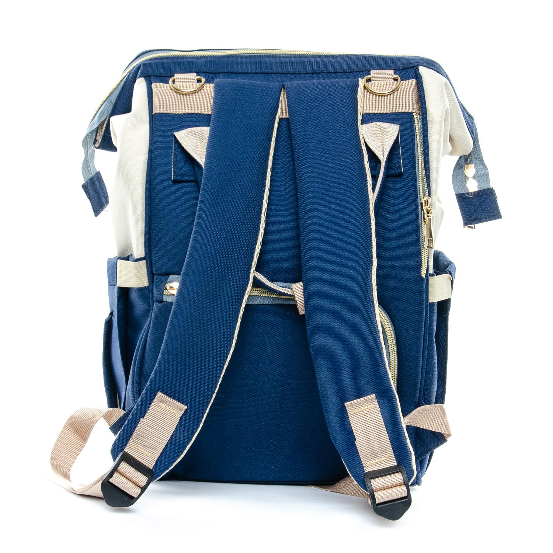 Сумка Женская Рюкзак нейлон Lanpad D900 blue white - фото 3