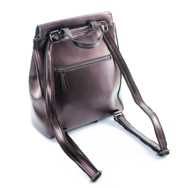 Сумка Женская Рюкзак кожа ALEX RAI 1-05 1005 bright-brown - фото 4