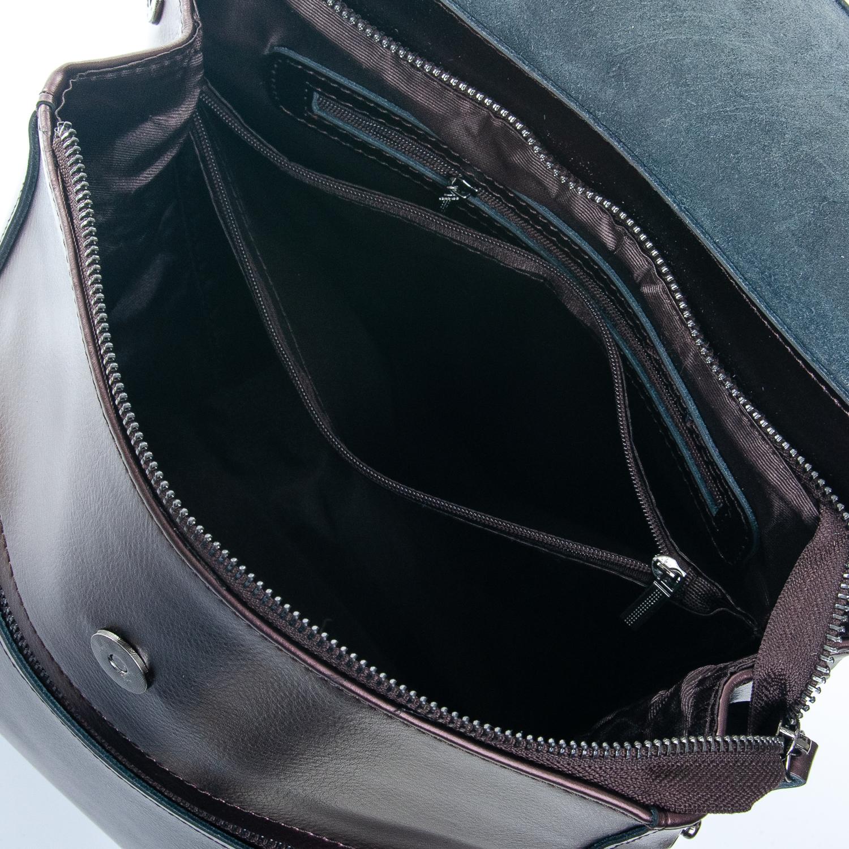 Сумка Женская Рюкзак кожа ALEX RAI 1-05 1005 bright-brown - фото 5