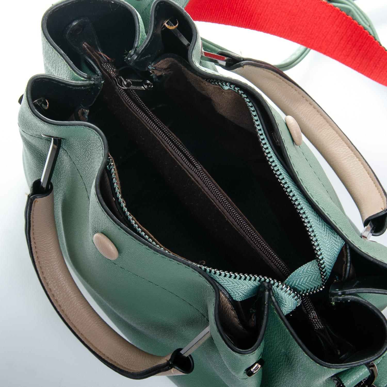 Сумка Женская иск-кожа 1-01 1053 green - фото 5