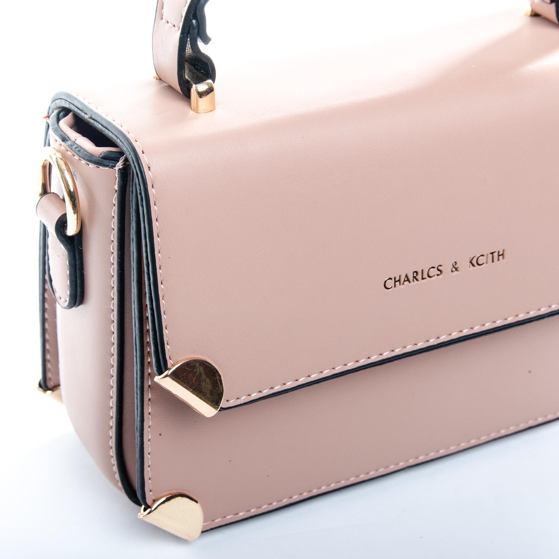 Сумка Женская иск-кожа 1-01 9807 pink - фото 3