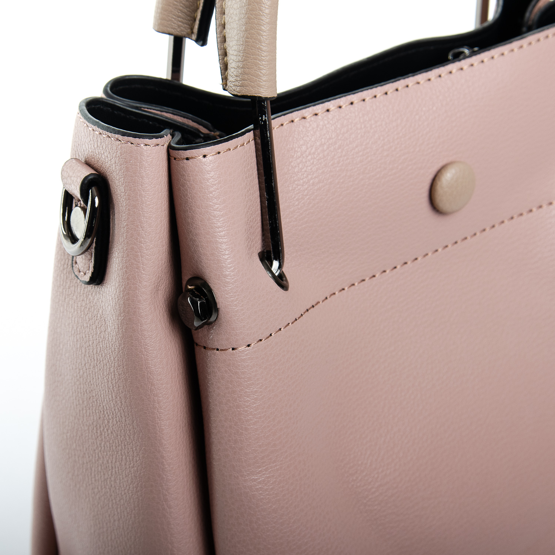 Сумка Женская иск-кожа 1-01 1053 pink - фото 3