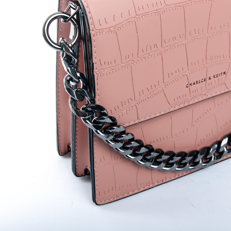 Сумка Женская Клатч иск-кожа 1-01 16863 pink - фото 3