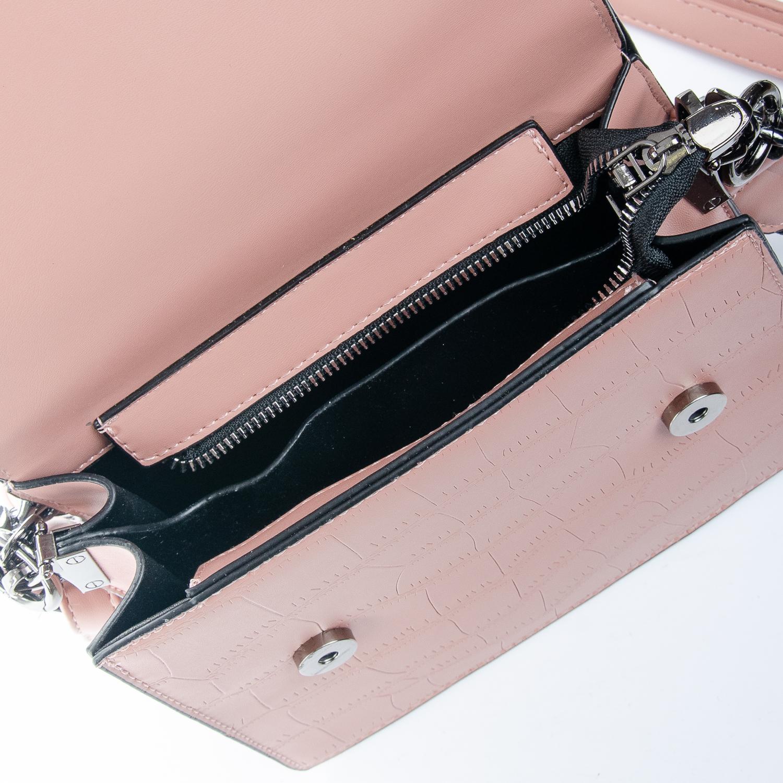Сумка Женская Клатч иск-кожа 1-01 16863 pink - фото 5