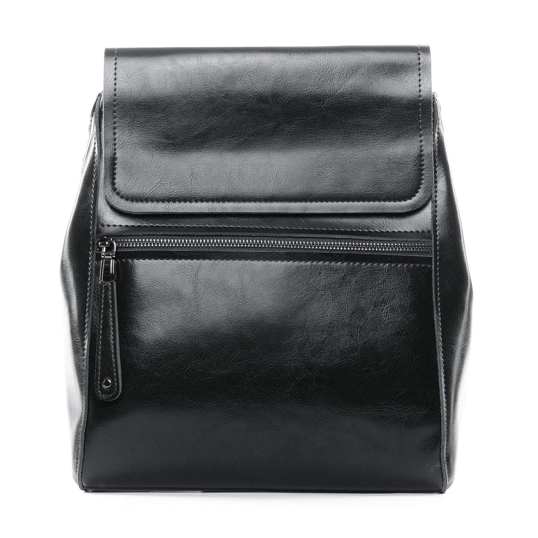 Сумка Женская Рюкзак кожа ALEX RAI 1-05 1005 black