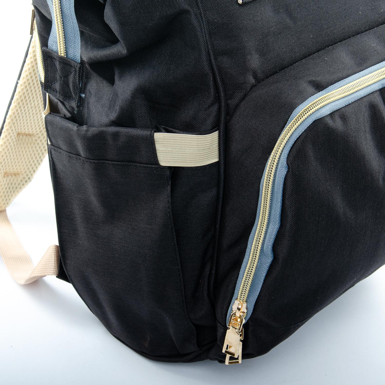 Сумка Женская Рюкзак нейлон Lanpad D900 black - фото 3