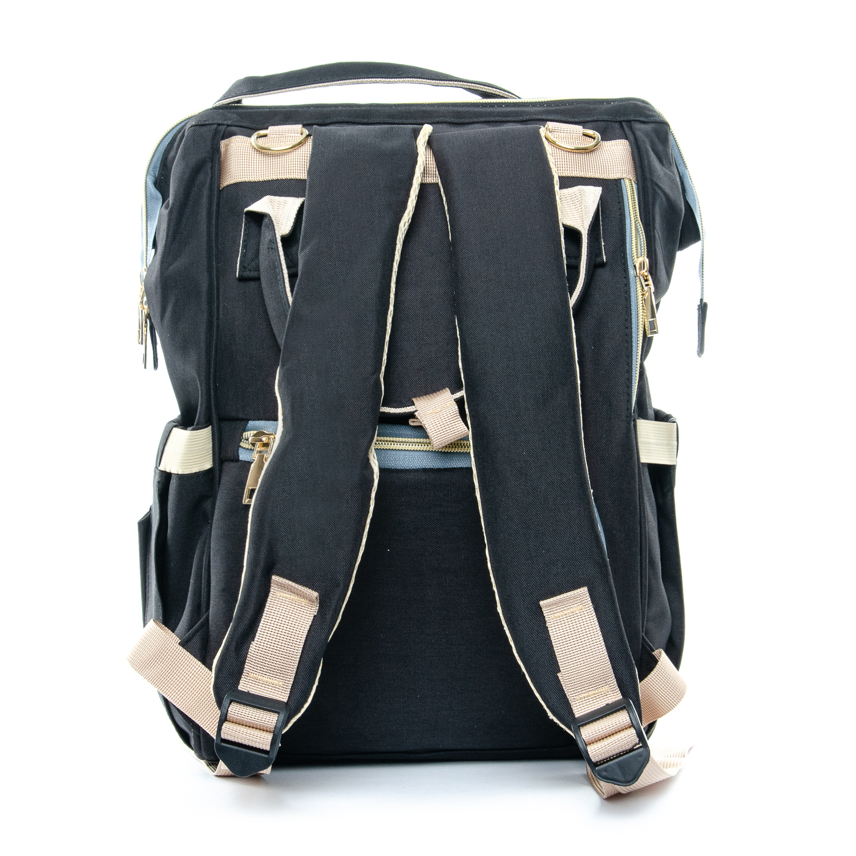 Сумка Женская Рюкзак нейлон Lanpad D900 black - фото 4