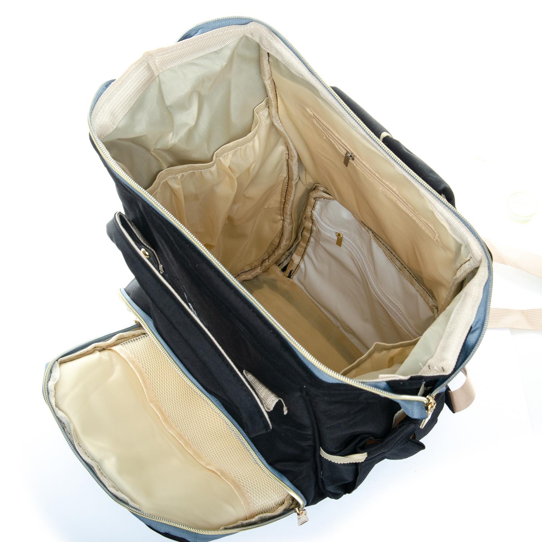 Сумка Женская Рюкзак нейлон Lanpad D900 black - фото 5