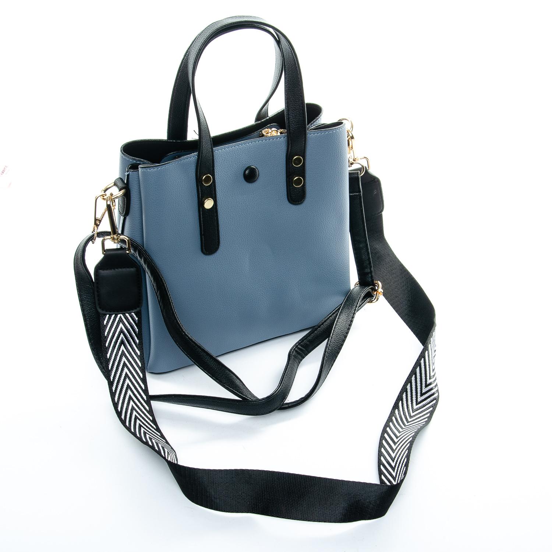 Сумка Женская иск-кожа 1-01 965-1 blue - фото 4