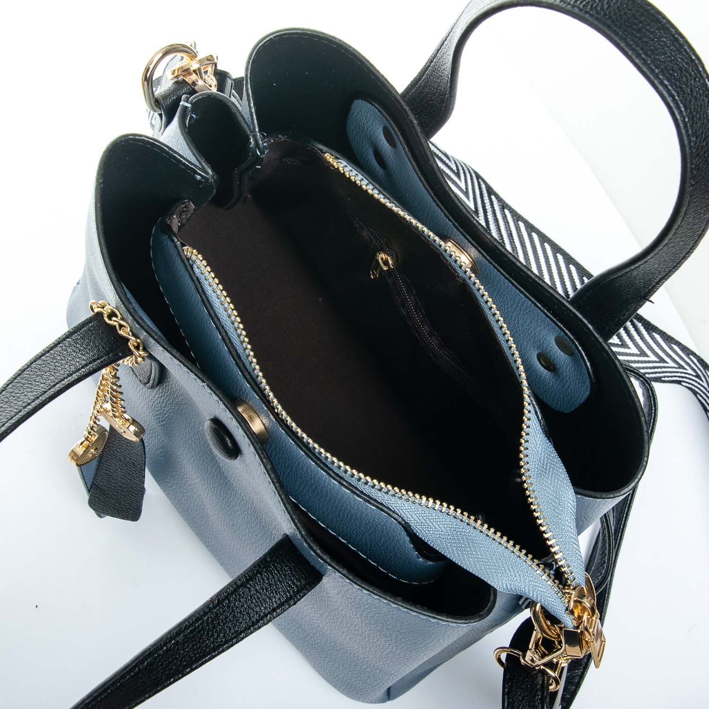 Сумка Женская иск-кожа 1-01 965-1 blue - фото 5