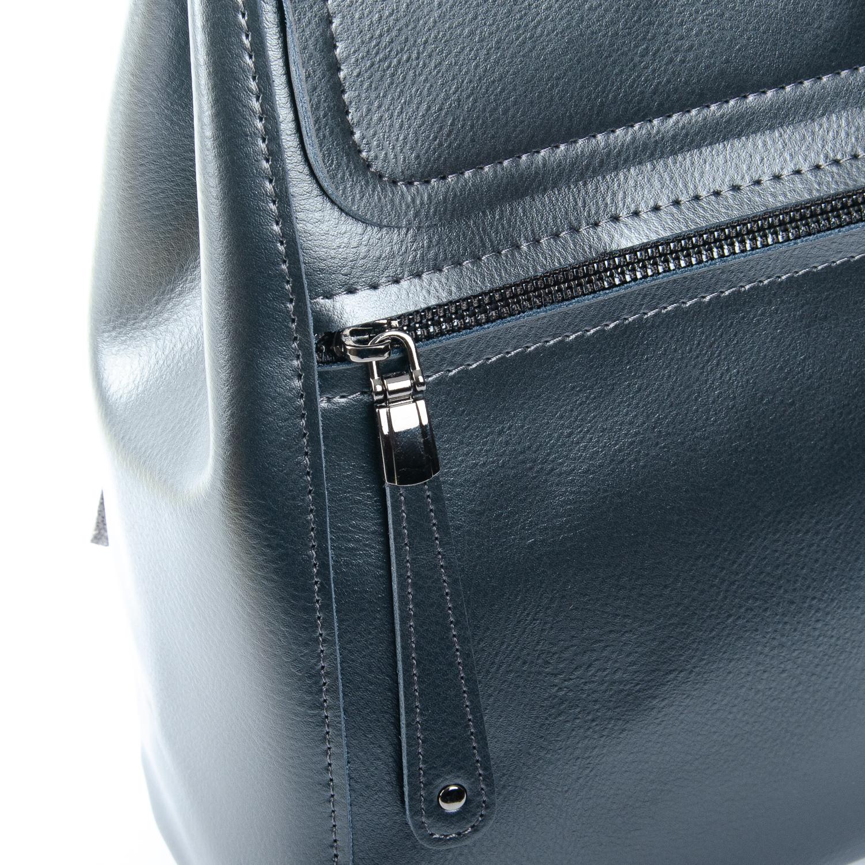Сумка Женская Рюкзак кожа ALEX RAI 1-05 1005 bright-grey - фото 3
